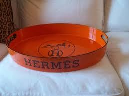 51 best hermes orange tray images on pinterest hermes bar tray