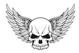 skull stock vector illustration of religion anatomy