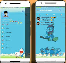 bbm tema doraemon apk file game software february 2017