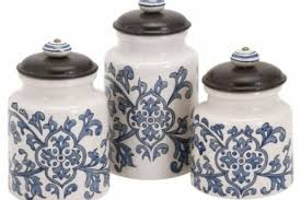 blue kitchen canister sets blue kitchen canister sets designcorner