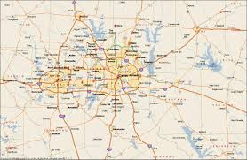 Dallas Fort Worth Airport Map by Dfw Metroplex Map Dallas Fort Worth Metroplex Map Texas Usa