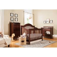 Davinci Emily 4 In 1 Convertible Crib White by Davinci 3 Drawer Changer Dresser Choose Your Finish Walmart Com