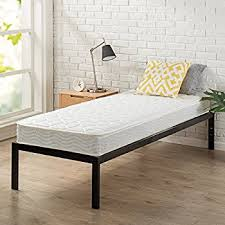 Bunk Bed With Cot Amazon Com Customize Bed 6 Inch Foam Mattress With Fabric Cover