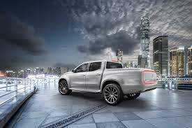 mercedes benz announces x class pickup concept wheels ca