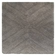 Square Bathroom Rug Square Bath Rug Railroad Gray Nate Berkus Target Home