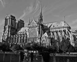 paris photography notre dame black and white fine art