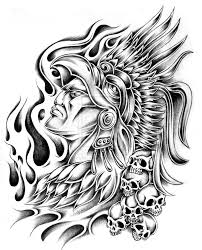 aztec mythology 12 gods and goddesses u2013 printable coloring pages