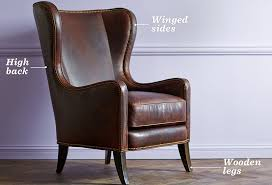 Classic Arm Chair Design Ideas Chair Design Ideas Luxurious Leather Wing Chairs Design Leather