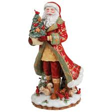 fitz and floyd bellacara santa figurine