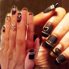 red and black nail designs 2015 best nails design ideas
