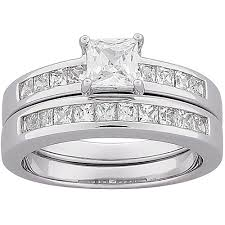avon wedding rings avon wedding rings diamonique 075 cttw channel set band ring