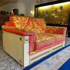 Versace Sofa Sofa By Gianni Versace For Atelier Versace 1980s 9563