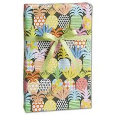 pineapple wrapping paper quarter ream 30 x208 printed wrapping paper wholesale discounts