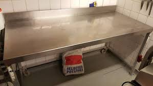Second Hand Work Bench Secondhand Catering Equipment Stainless Steel Tables 1 01m To 2m