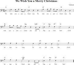 wish you a merry cello sheet