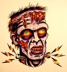 35 best frankenstein zombie tattoos images on pinterest zombie