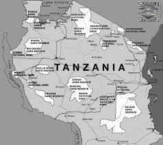Tanzania Map Tanzania Africa U0027s Safari Destination Sunny Safaris Ltd