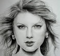 taylor swift u0027s portrait using dry brush technique marysculptor
