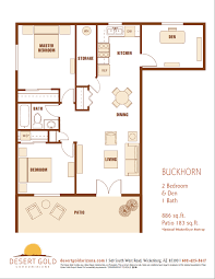 patio floor plans desert gold condominiums u2013 floor plans