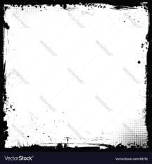 halloween border vector grunge border royalty free vector image vectorstock