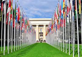 si e des nations unies siège des nations unies ville de ève suisse image stock image