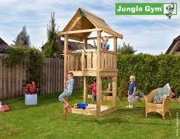 climbing frames for small gardens jungle house fireman u0027s pole