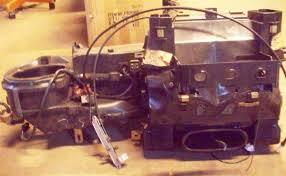 mercedes climate control box w a c evaporator u0026 heater core w123