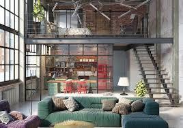 industrial loft industrial loft by golovach tatiana andrey kot design