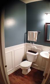 benjamin moore smokestack grey powder room pinterest