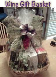 gift basket wrapping bridal shower basket idea wrapped in tulle for the mr mrs see