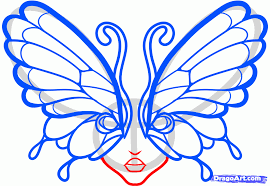 draw tattoo butterfly eyes step by step drawing sheets added by