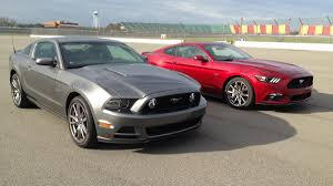 road test 2015 mustang ford mustang gt shootout 2014 vs 2015 autoweek
