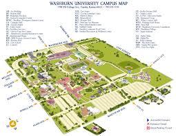 U Of A Campus Map Washburn University Campus Map Washburn University