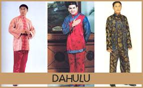 baju kurung moden zaman sekarang perbezaan pakaian tradisional dulu dan sekarang