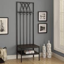 Coat Tree With Bench Metal Storage Bench Coat Rack Make Cushion For Metal Storage