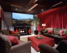 Media Room Designs - home theater theatre curtain pinterest basements room and