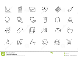doodle presentations science doodle icons 2 stock illustration image 69614011