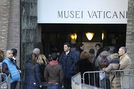 vatican visitors forced to use after credit card ban as city