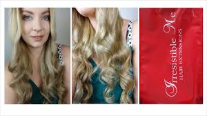 Red Blonde Hair Extensions by Irresistible Me Hair Extensions Review Youtube