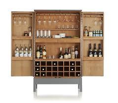 crate and barrel bar cabinet crate barrel victuals grey bar cabinet furniture i love