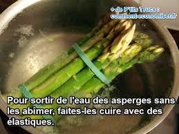 comment cuisiner des asperges blanches l astuce qu il vous faut pour cuire les asperges sans les abîmer
