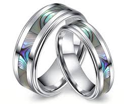 wedding rings his hers white gold wedding ring sets for him and wires weddings band