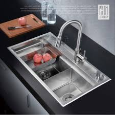 Sink Spanish Translation by Hideep Kitchen Sink Vessel Set With Faucet Double Sinks Kitchen