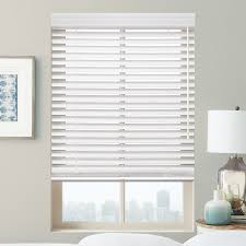 premier 2 u201d cordless faux wood blinds from selectblinds com