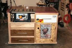 how to build a table saw workstation plans for table saw stand kreg owners community