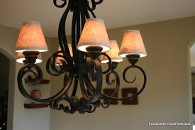 Chandelier Shade Pondered Primed Perfected Burlap Chandelier Shades Made By Me