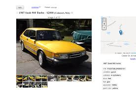 lexus ls craigslist buy this low mileage saab 900 turbo with a real aviation