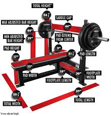 Weight Bench With Spotter Competition Flat Bench Press Legend Fitness