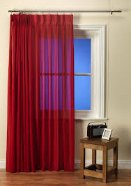 Washing Voile Curtains Luxury Linen Look Cherry Voile Curtain With Pinch Pleat Heading A