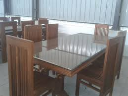 Dining Room Table Design Ideas Furniture Rectangle Brown Wooden Dining Table With Bench Striped